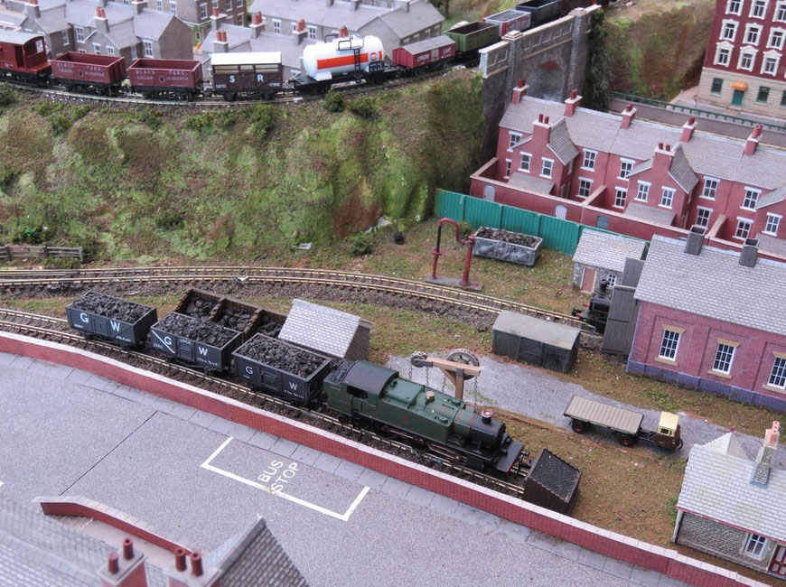 model railway coal wagon