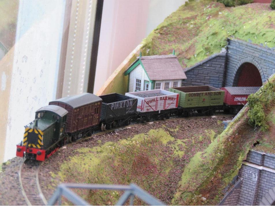 railway goods train