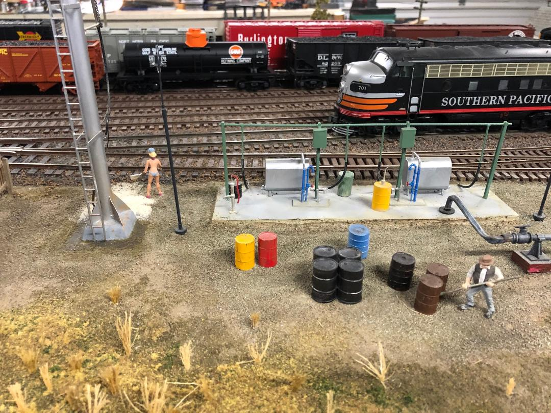 HO model railroad