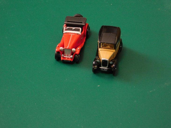 model car for model railway