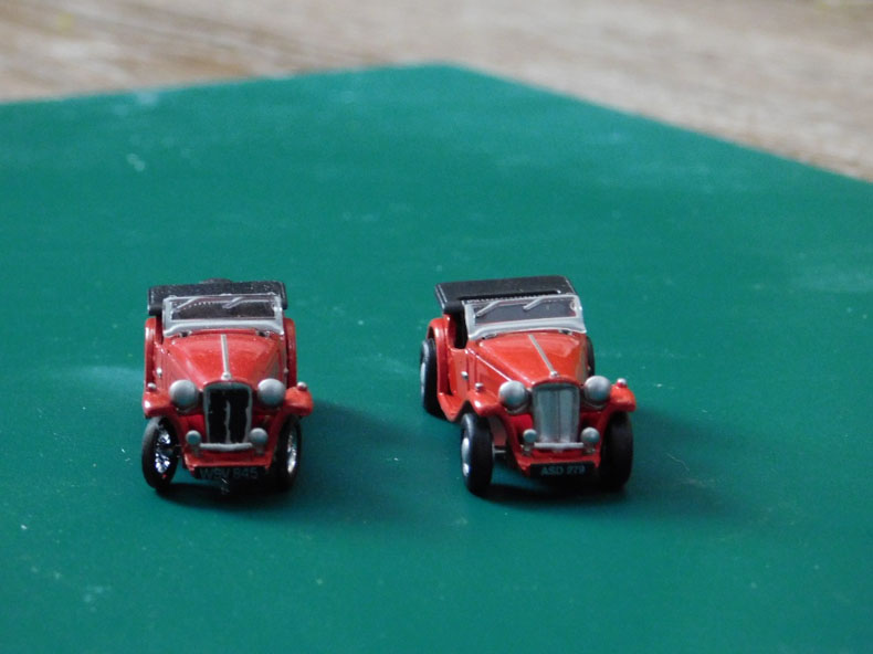 model cars for model railway