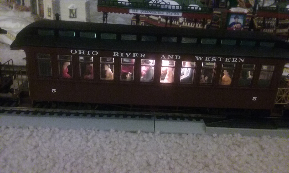 O scale passenger car