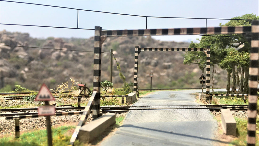 model train diorama