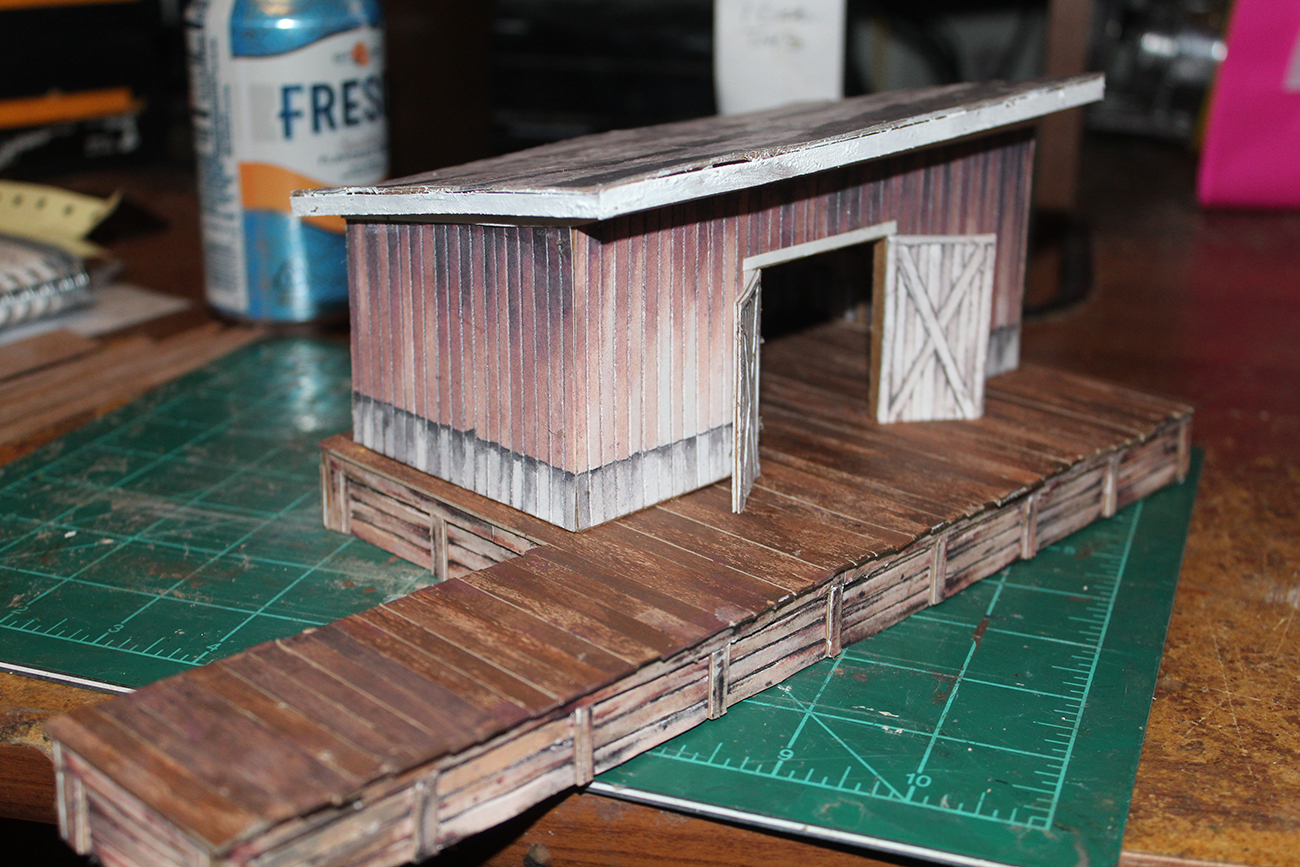 freight shed scratch build
