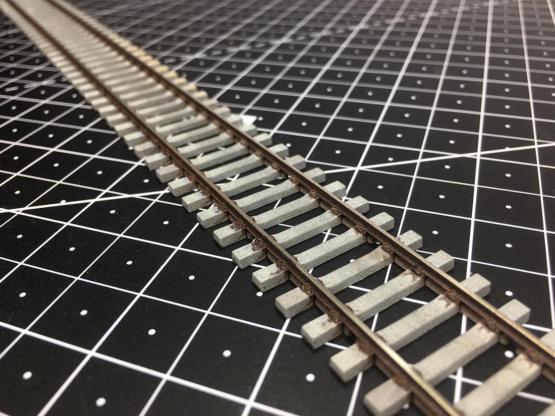 track weathering