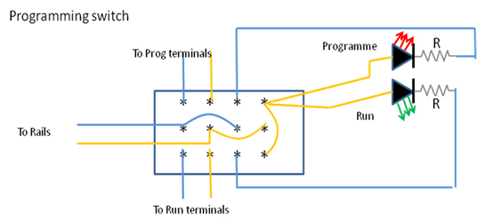 model railway wiring