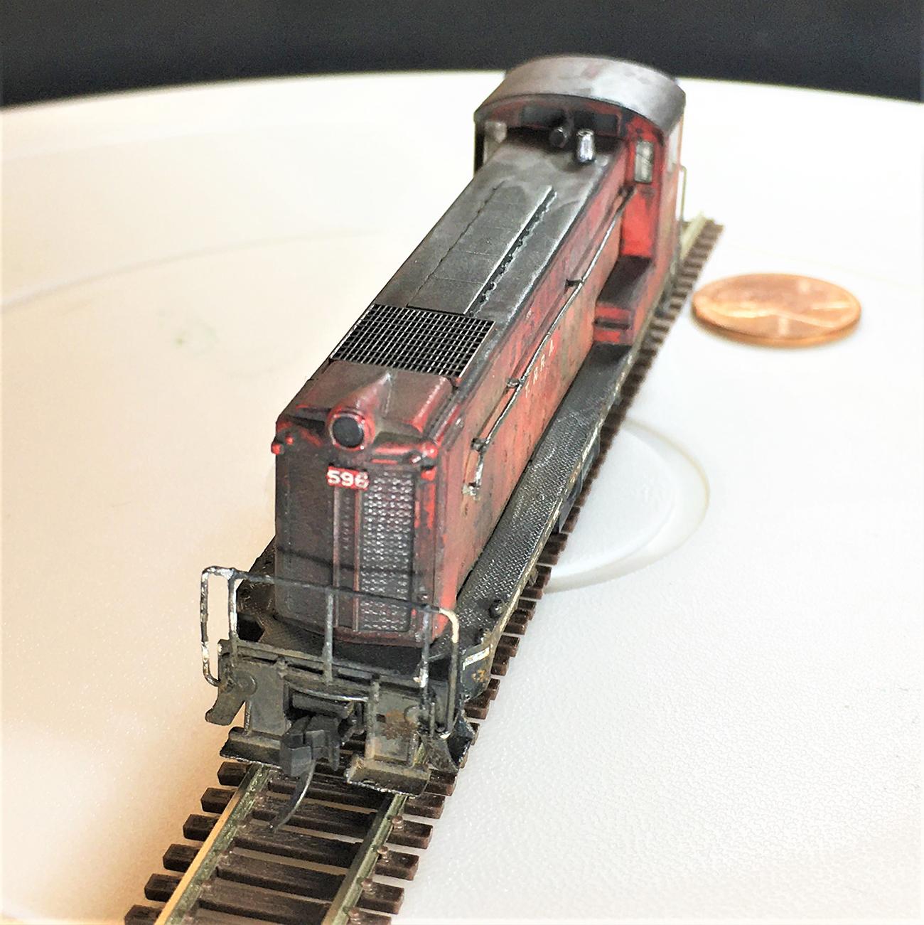 weathering steam engine