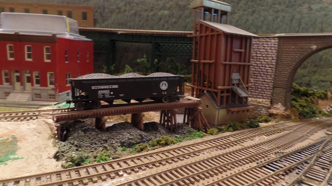 model railroad kit bash