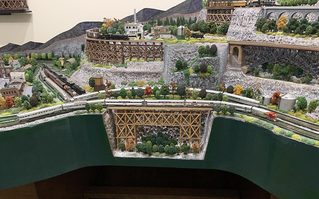 N scale model railway