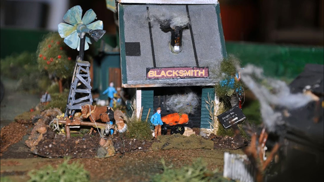 wild west n scale