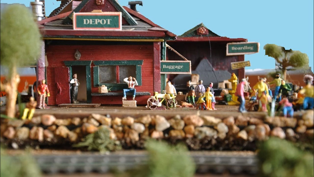 wild west model train