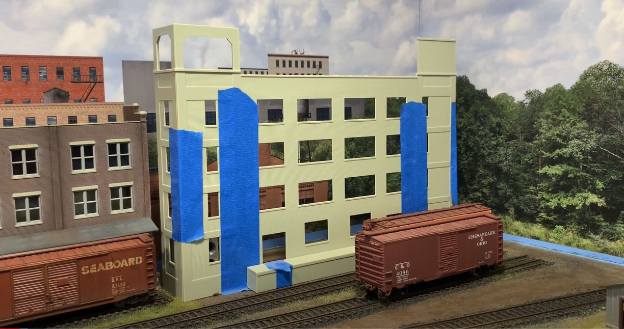 HO scale brewery
