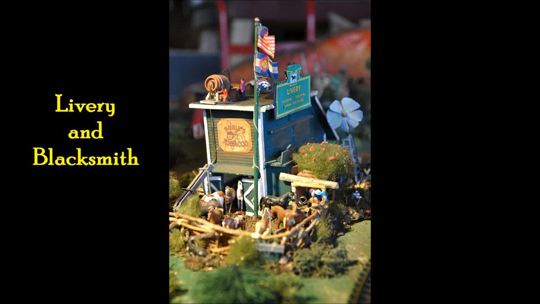 wild west model railroad