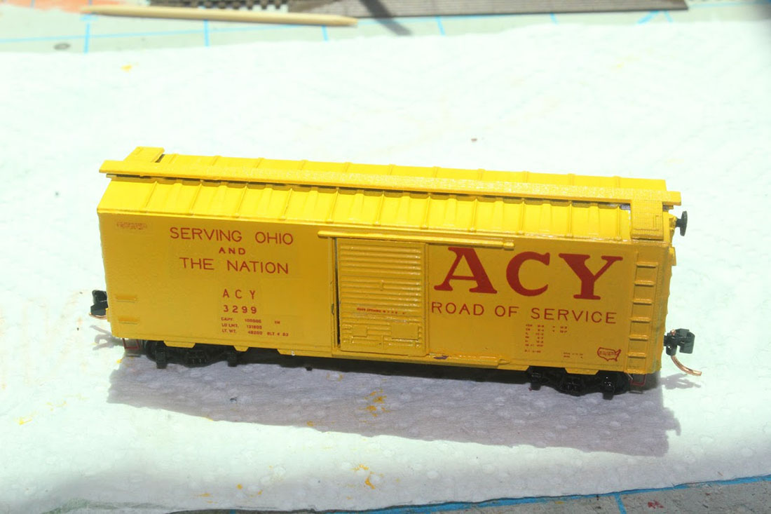 N scale paint