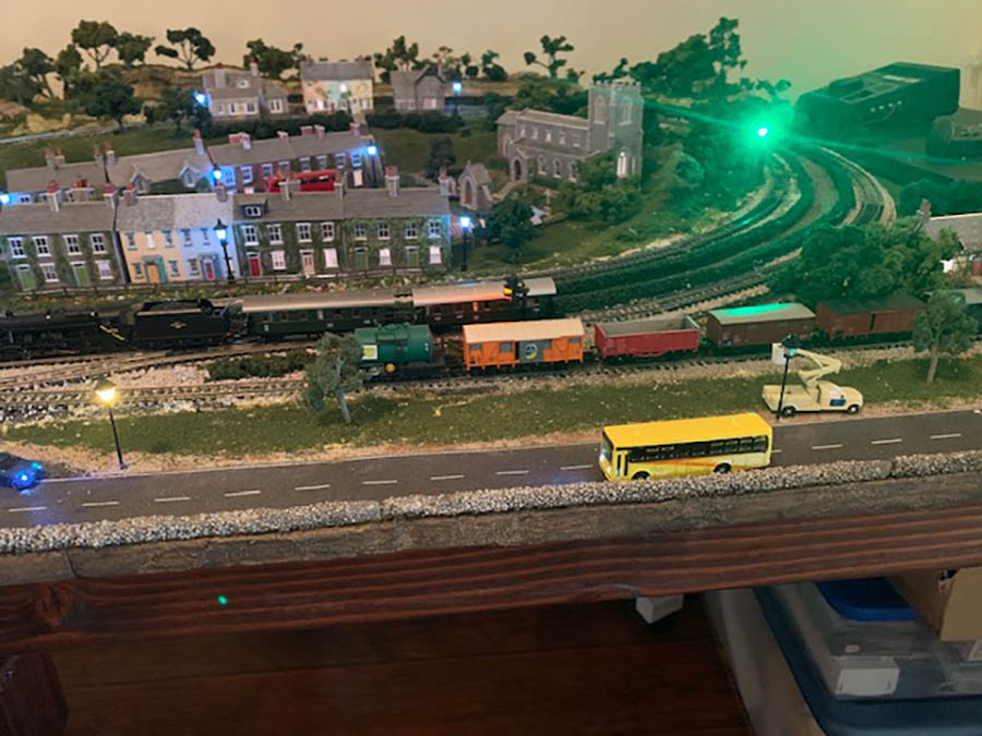 n scale model railway