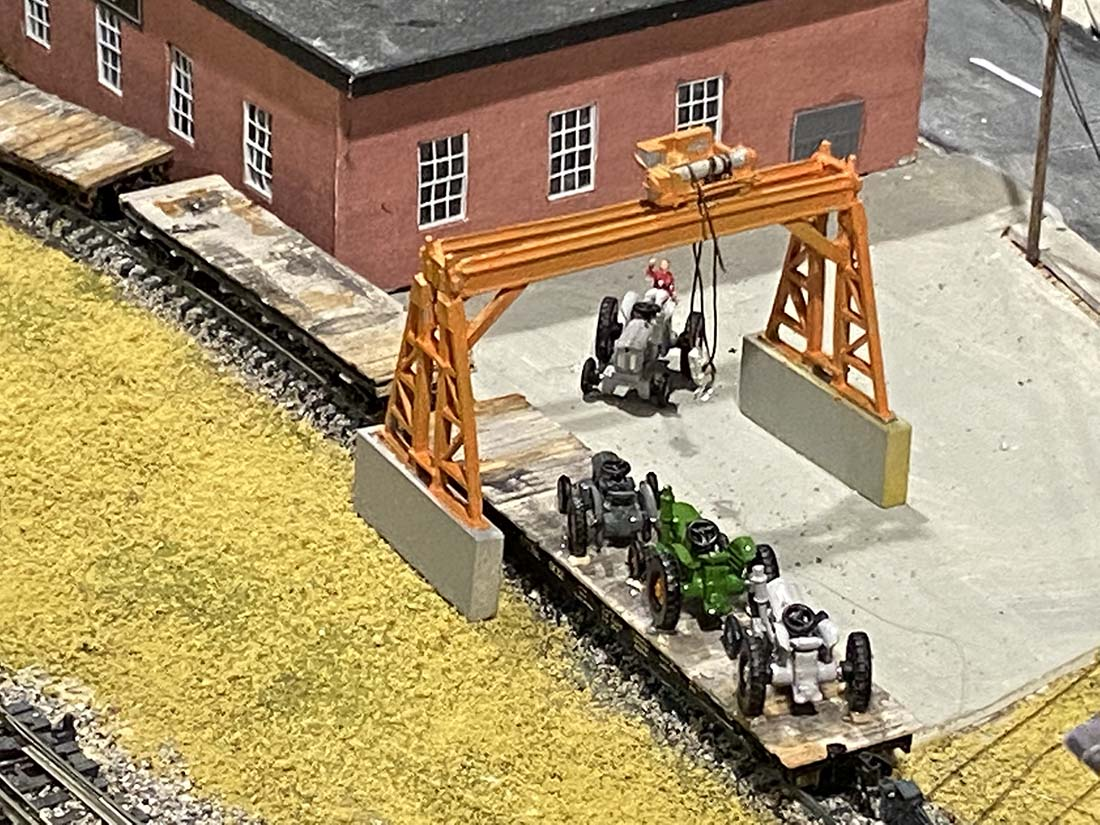 n scale tractor factory